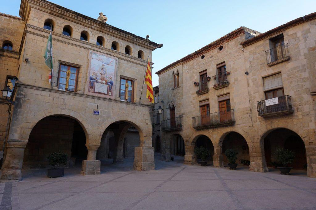 Plaza Mayor de s'Horta de Sant Joan, Tarragona
