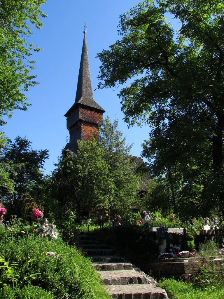 Iglesia de Desesti, Maramures, Rumania