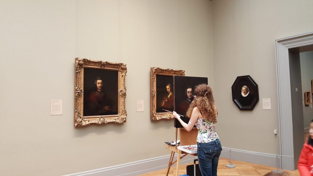 pintora museo metropolitano