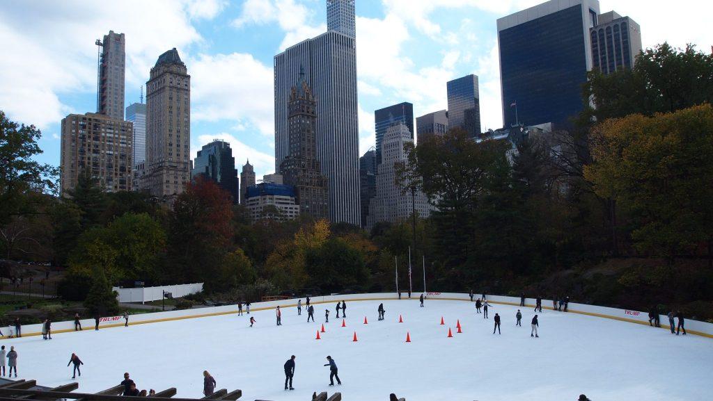 pista hielo central park