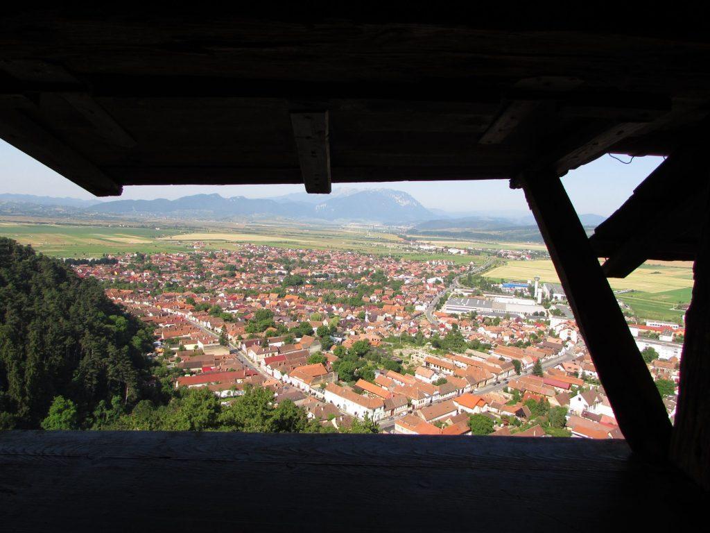 Vistas desde la Fortaleza de Rasnov