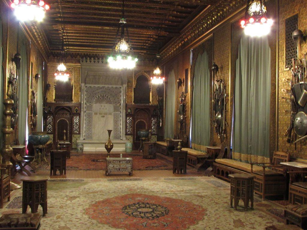 Salón árabe en el castillo de Peles