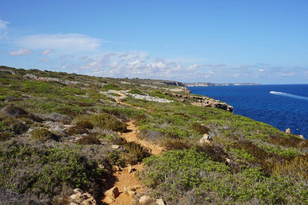 Camino a Cala Marmols