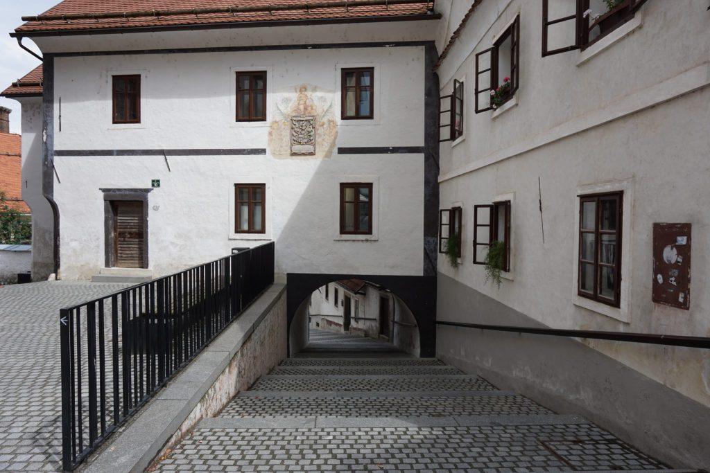 Antigua escuela de Skofja Loka
