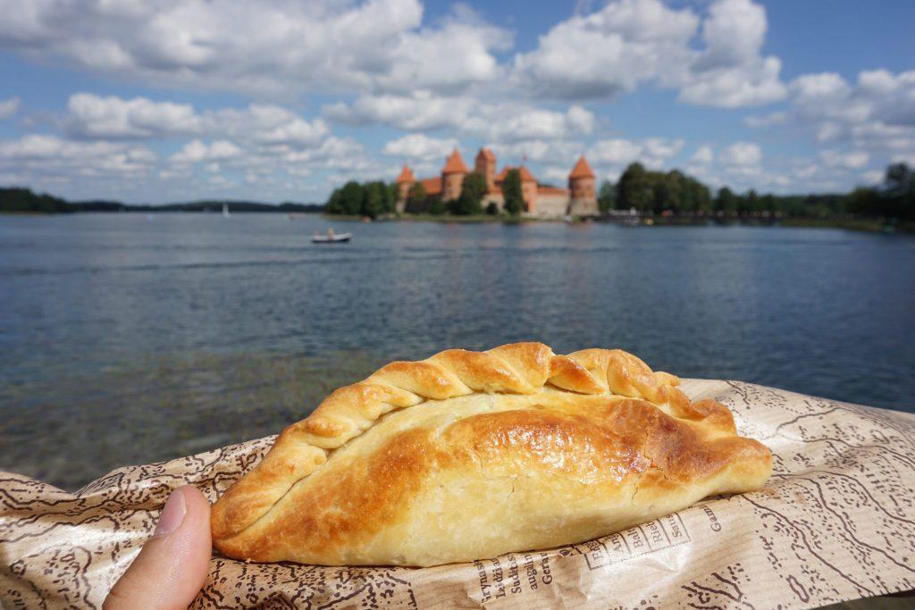 Kibinai, empanada típica de Trakai