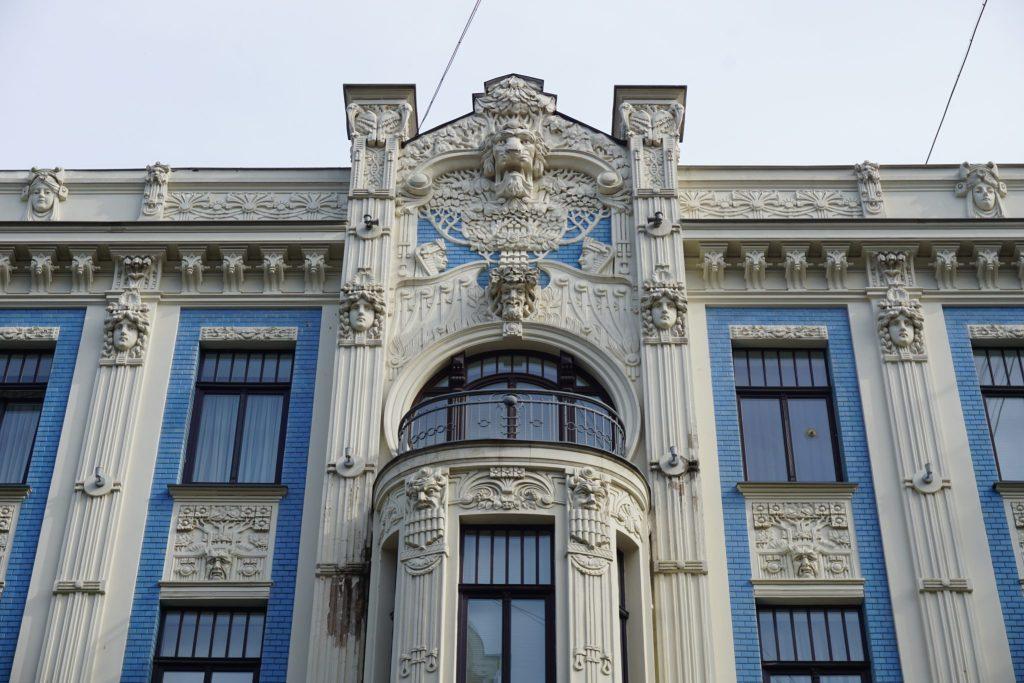 Art Nouveau en Riga (Alberta iela 8)