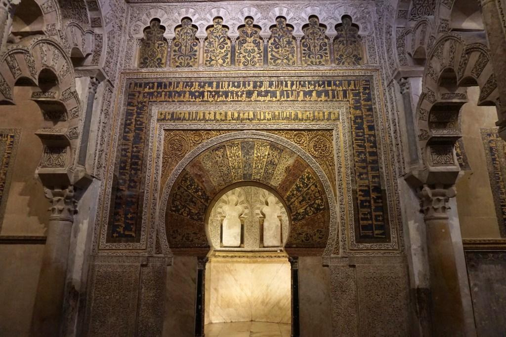 Mihrab de la mezquita de Córdoba