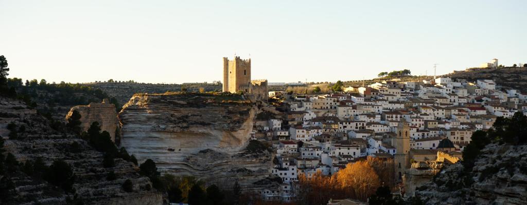 Panorámica de Alcalá del Jucar