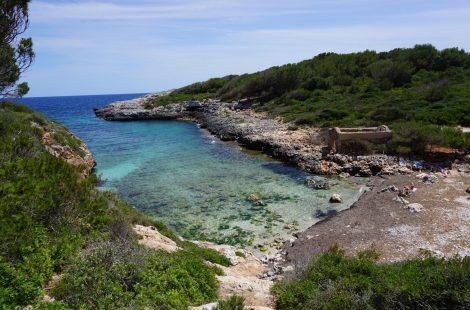 Cala Brafi o Cala Brafia, Mallorca
