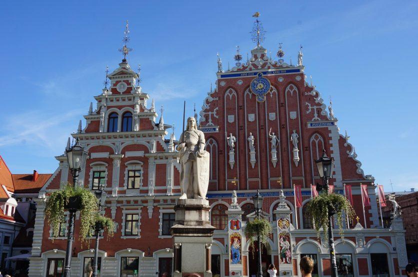 Riga en un día. Casa de los Cabezas Negras