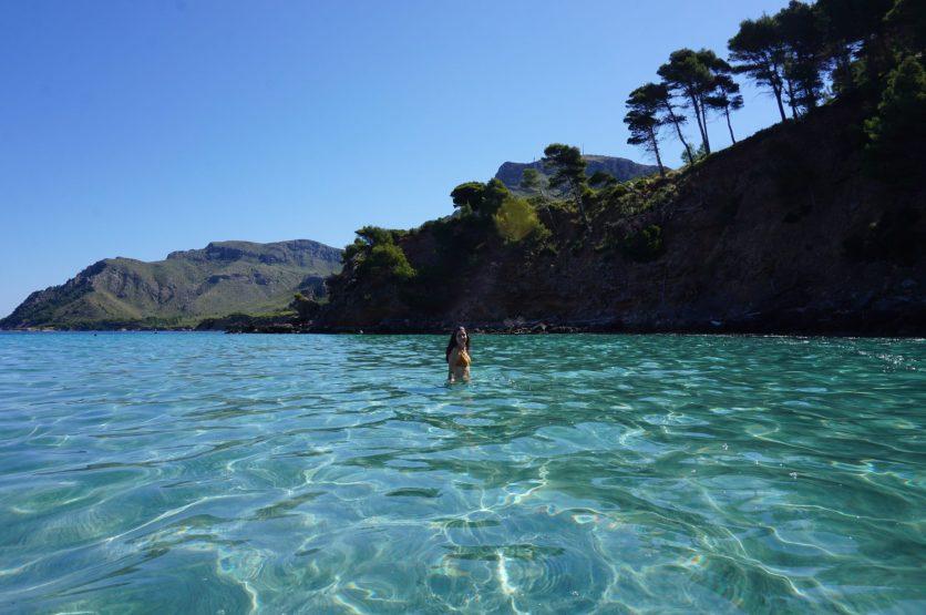 Na clara, una de las playas más bonitas de Mallorca