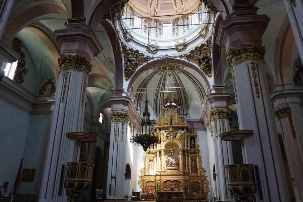 Interior iglesia parroquial Nuestra Sra. de la Asunción