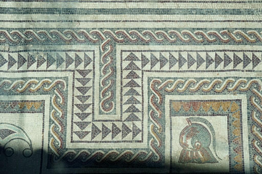 Mosaico romano de la Plaza de San Pedro