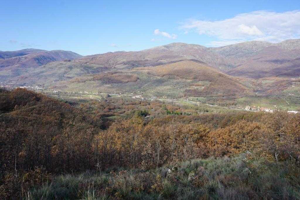 Valle del Jerte en invierno