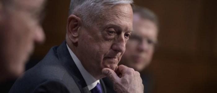 ماتيس يعلن عدم توصل واشنطن بعد الى قرار بشأن الاتفاق النووي الايراني
