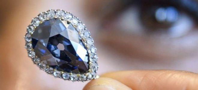 ماسة زرقاء نادرة تُباع بـ 6.7 مليون دولار