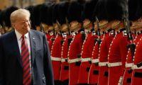 """""""BBC"""": أهم 9 لحظات أثناء زيارة ترامب  بريطانيا"""