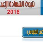 """نتيجة الشهادة الاعدادية محافظة الجيزةالدور الثاني 2018 """"ملاحق"""" بالاسم ورقم الجلوس"""
