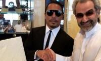 حبيب الملح يسافر بطائرته الخاصة للقاء الوليد بن طلال