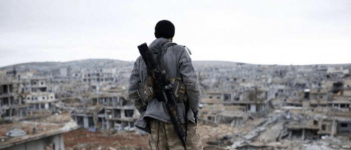 قوات سوريا الديمقراطية تتصدى لداعش فى دير الزور