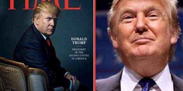 ترامب: لا أتخيل شخصية للعام غيري على غلاف مجلة «تايم»