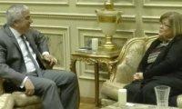 سفيرة سلوفينيا بالقاهرة تؤكد على أهمية دور مصر فى الشرق الأوسط وأفريقيا