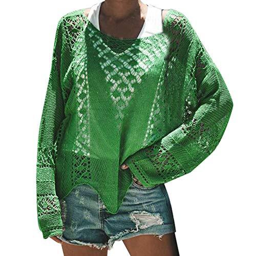 Resplend_langarmshirt – Veste – Femme – Vert – XL
