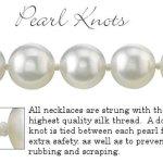 8,0-8,5mm HANADAMA Blanc Perle Akoya Ensemble collier, bracelet et boucles d'oreilles, 45,7cm Longueur Princesse