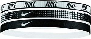 Nike Printed Headbands Assorted 3 Pack Black/White OSFM