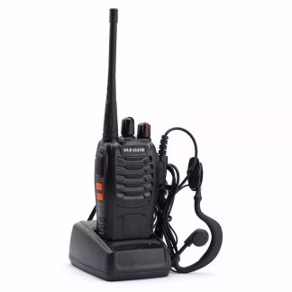 Radios FM Walkie Talkie Con Audifonos