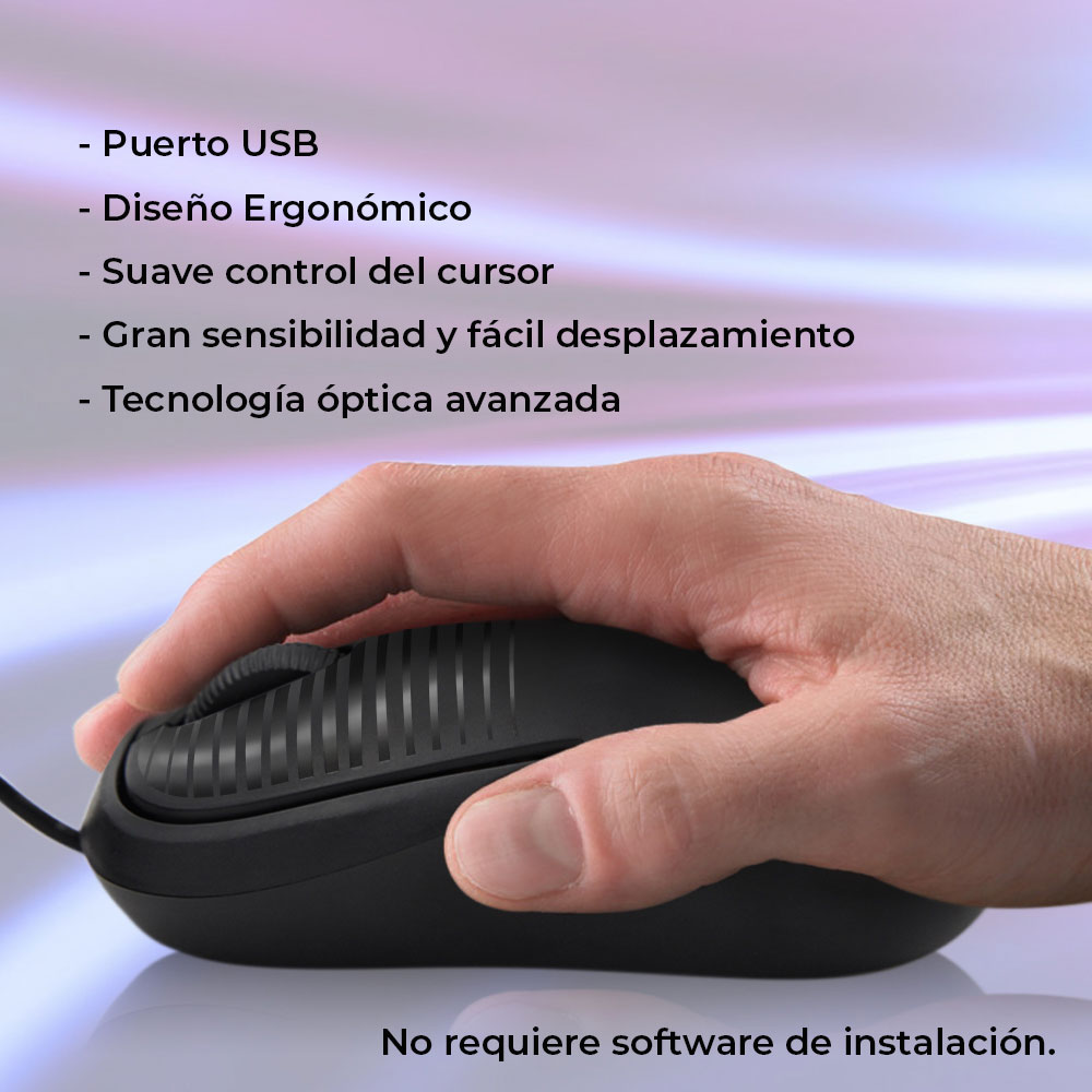Mouse Usb Optico 800 Dpi Laptop Pc Notebook