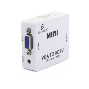 Mini Convertidor VGA a HDMI 1080P Con Audio