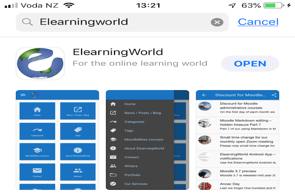 ElearningWorld on Apple App Store