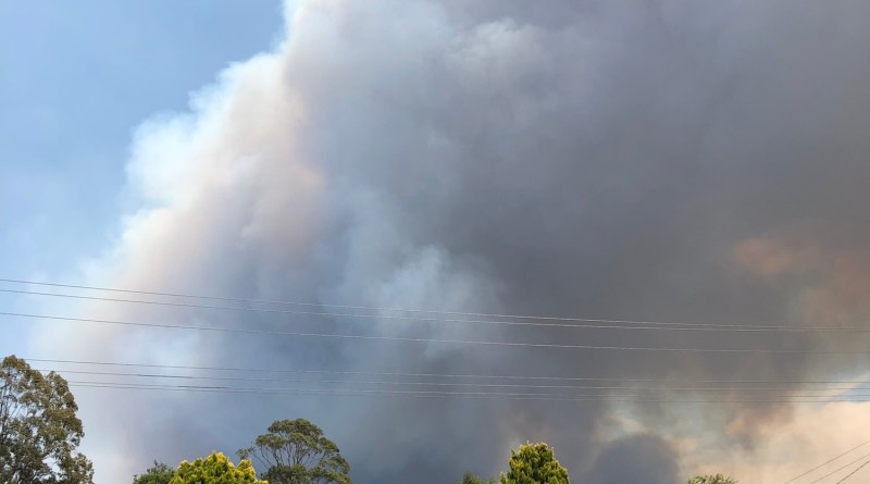 The Green Wattle Creek fire
