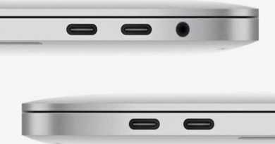 Apple MacBook USB-C ports