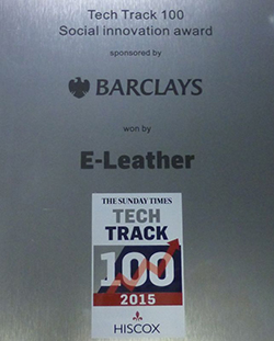 ELeather recognised with Social Innovation Award