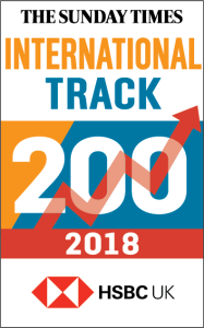 ELeather Placed on The Sunday Times HSBC International Track 200