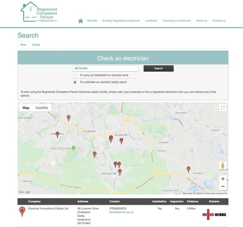 Landlord Electrical Safety Reports