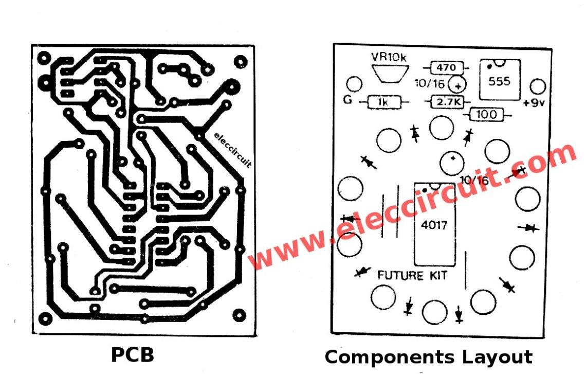 Image Result For Led Light Circuit Board Design