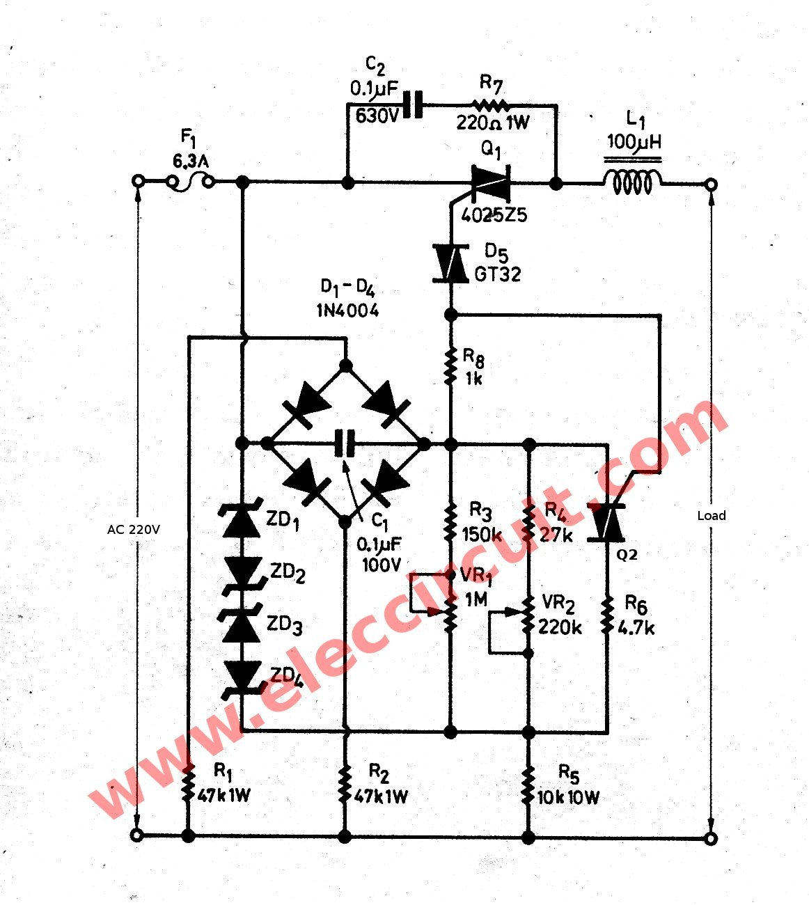 Wrg Triac Dimming Wiring Diagram