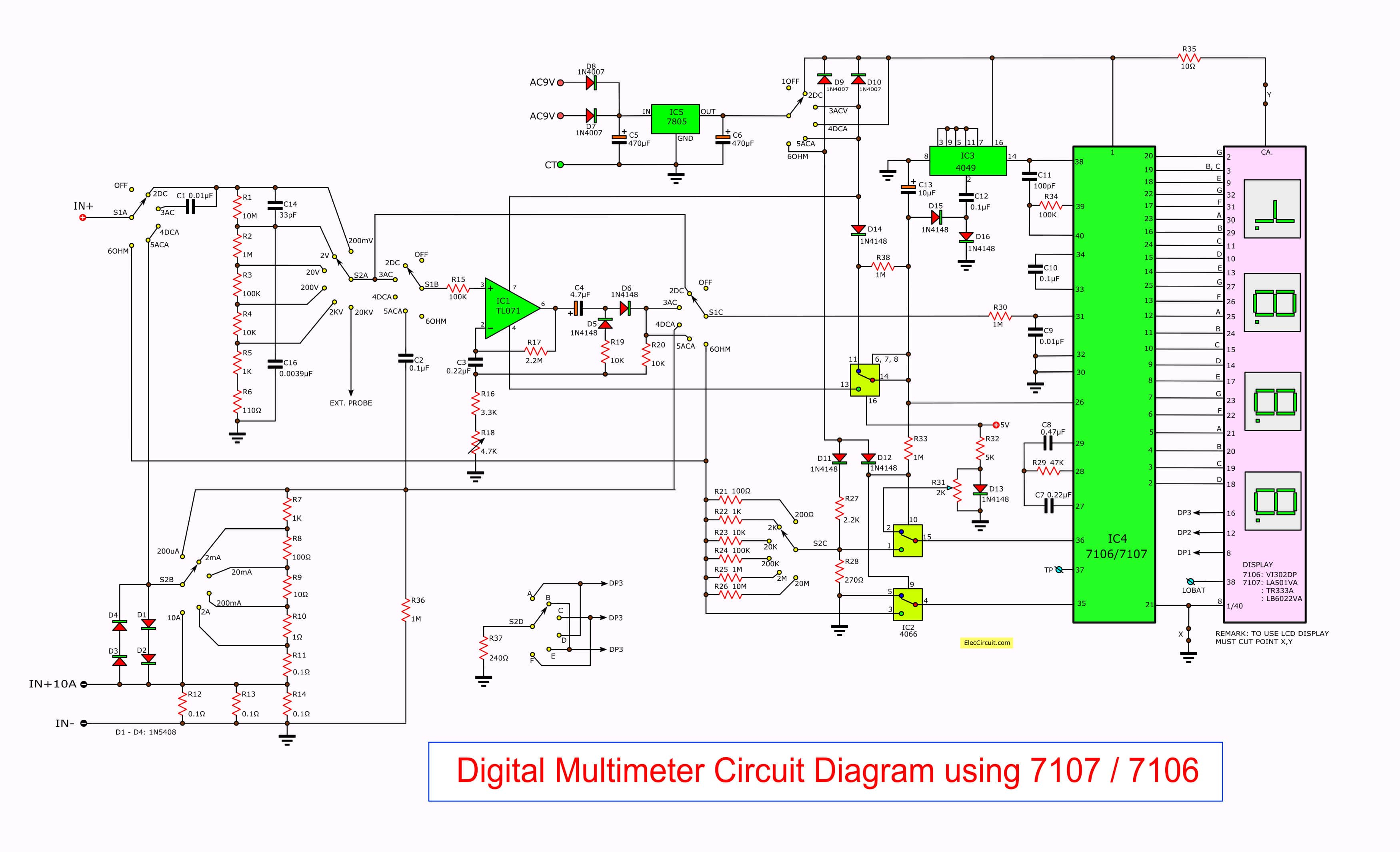 Digital Wiring Schematic