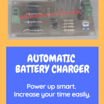 Automatic Battery Charger Circuit Projects Eleccircuit Com