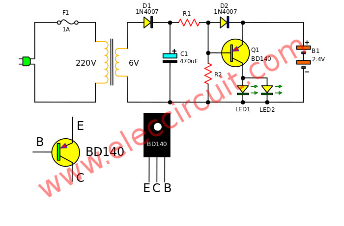 Battery And Light Bulb Circuit