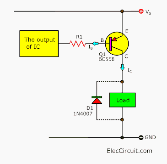 how does a transistor circuit works  eleccircuit