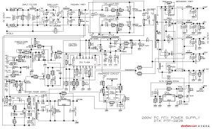电脑电源电路原理图  电源电路图  电子发烧友网