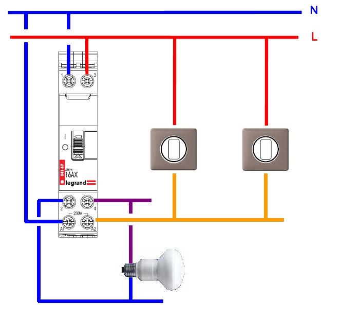 3 Interrupteurs Elecproshop