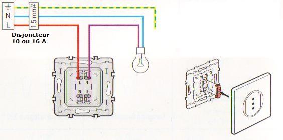 Le Cablage Des Interrupteurs A Voyant Elecproshop