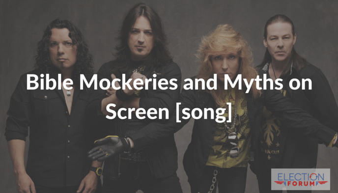 Bible Mockeries and Myths on Screen [song]