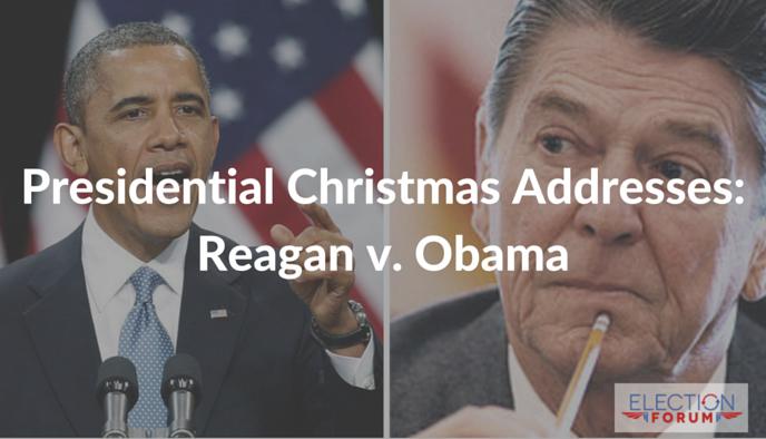 Presidential Christmas Addresses: Reagan v. Obama