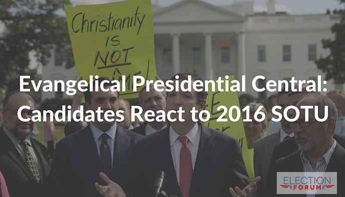 Evangelical Presidential Central: Candidates React to 2016 SOTU